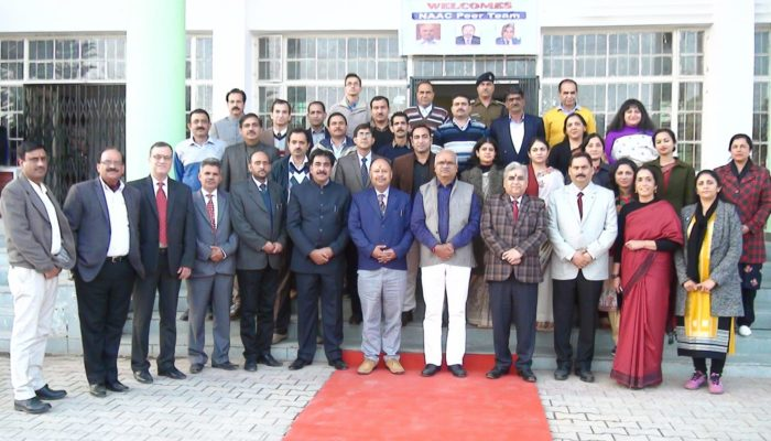 NAAC Peer Team Visit 30th Nov- 1st Dec, 2019