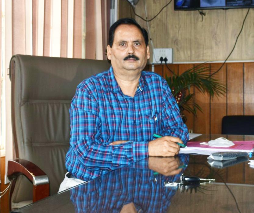 Dr. Ashok Chaudhary, Principal