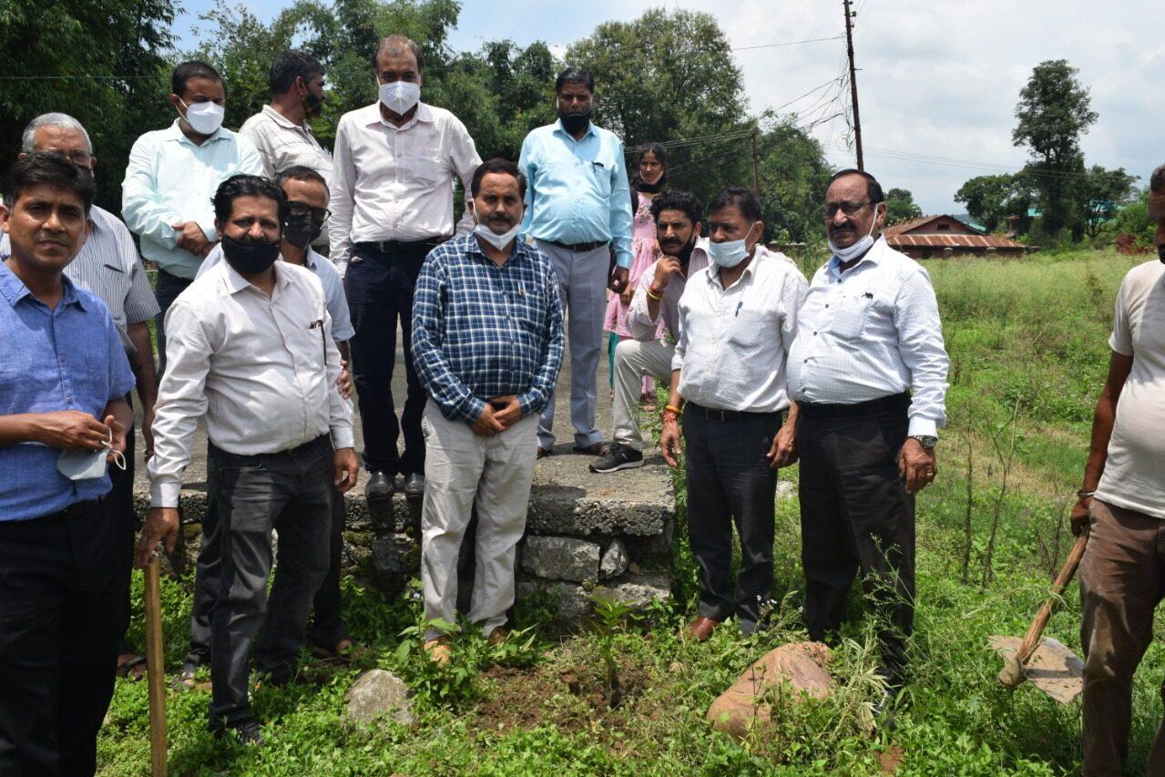 Van Mahotsav celebration: Tree Plantation